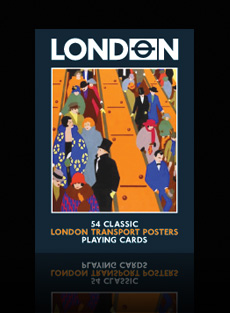 London Transport playing cards