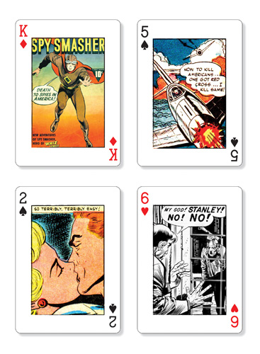 Comic Art playing cards