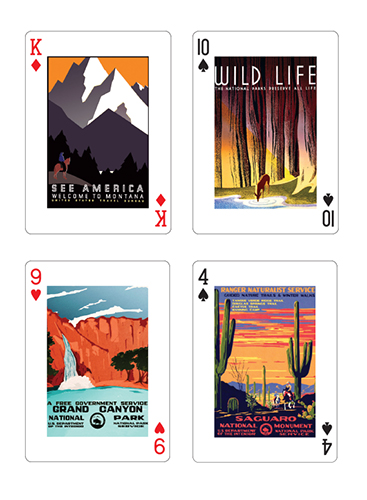 Forever Wild playing cards