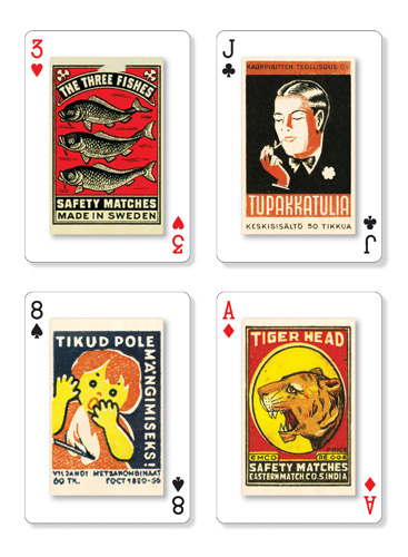 Strike it Lucky playing cards